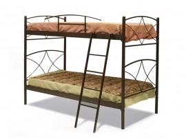 """Двуетажно метално легло """"ANDROS"""" DIOMMI (30-014) - 90/190 см."""