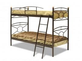 """Двуетажно метално легло """"KRIKOS"""" DIOMMI (30-012) - 90/190 см."""
