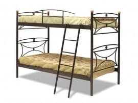 """Двуетажно метално легло """"MARGARITA"""" DIOMMI (30-010) - 90/190 см."""