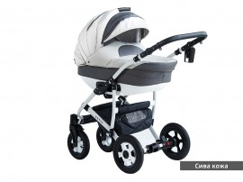 Бебешка количка Estel - кожа