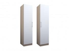 Еднокрилен гардероб ЕД по проект - ляв/десен