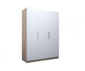 Трикрилен гардероб ЕД - по проект - ляв/десен