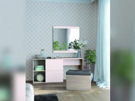 Скрин - тоалетка и табуретка Фаворит Express - с огледало - по поръчка