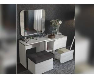 Скрин - тоалетка и табуретка Изида Express - с огледало - по поръчка