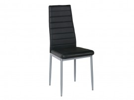 Комплект от 4 бр. трапезни столове К204 - черен