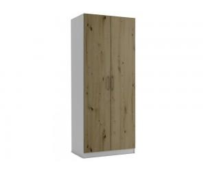 Двукрилен гардероб МОД 2 - Артизан светъл - 90 см.