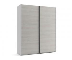 Малък гардероб с две плъзгащи врати МОД 5 - Бор Касина - 180 см.