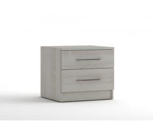 Нощно шкафче с две чекмеджета МОД 13 - Бор Касина - 50 см.