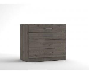 Скрин с четири чекмеджета МОД 14 - Дъб Давос Трюфел - 90 см.