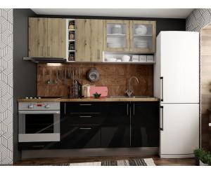 Готова права кухня с цял термоплот Хит и Елит 3 - 210 см.
