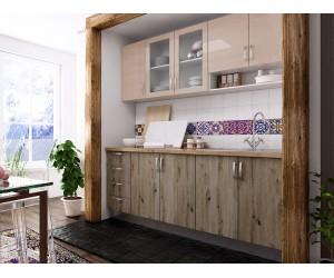 Готова права кухня с цял термоплот Хит и Елит 4 - 200 см.