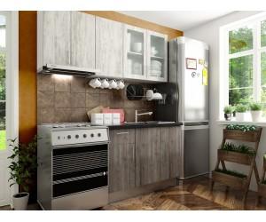 Готова права кухня с цял термоплот Хит 5 - 180 см.