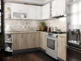 Готова ъглова кухня с цял термоплот Хит и Елит 6