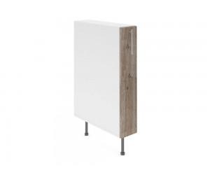 Долен шкаф за кухни - бутилиера Хит М10 Дъб алатри 15 см.