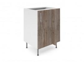 Долен ъглов шкаф за кухни Хит М8 Дъб алатри 60 см.