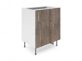 Долен ъглов шкаф за кухни Хит М8 Дъб алатри 70 см.