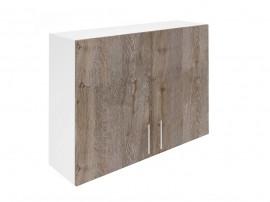Горен шкаф за кухни с две врати Хит М20 Дъб алатри 100 см.