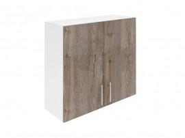 Горен шкаф за кухни с две врати Хит М20 Дъб алатри 80 см.