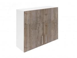 Горен шкаф за кухни с две врати Хит М20 Дъб алатри 90 см.