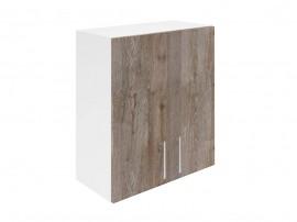Горен кухненски шкаф за вграден аспиратор Хит М28 Дъб алатри 60 см.