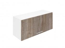 Горен шкаф за кухни с клапваща врата Хит М26 Дъб алатри 80 см.