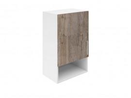Горен шкаф за кухни с една врата и ниша Хит М18 Дъб алатри 45 см.