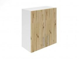 Горен шкаф за кухни с две врати Хит М20 Артизан светъл 60 см.