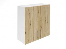 Горен шкаф за кухни с две врати Хит М20 Артизан светъл 70 см.