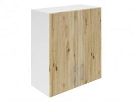 Горен кухненски шкаф за вграден аспиратор Хит М28 Артизан светъл 60 см.