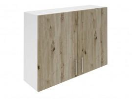 Горен шкаф за кухни с две врати Хит М20 Артизан тъмен 100 см.