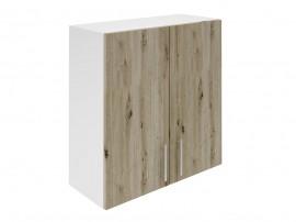 Горен шкаф за кухни с две врати Хит М20 Артизан тъмен 70 см.