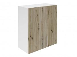 Горен кухненски шкаф за вграден аспиратор Хит М28 Артизан тъмен 60 см.