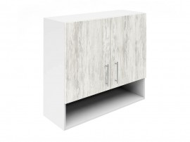 Горен шкаф за кухни с две врати и ниша Хит М22  Бор сестола 80 см.