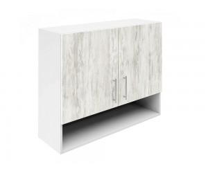 Горен шкаф за кухни с две врати и ниша Хит М22  Бор сестола 90 см.