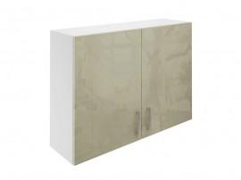 Горен шкаф за кухни с две врати МДФ Елит М20 Фрапе гланц 100 см.
