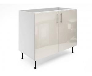 Долен шкаф за кухни МДФ Елит М6 Крем гланц 100 см.