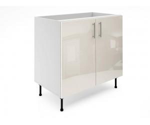 Долен шкаф за кухни МДФ Елит М6 Крем гланц 90 см.