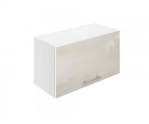 Горен шкаф за кухни с клапваща врата МДФ Елит М26 Крем гланц 65 см.