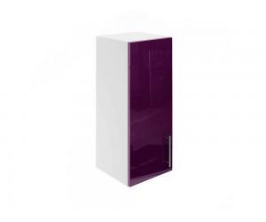 Горен шкаф за кухни МДФ Елит М15 Патладжан гланц от 30 до 40 см.