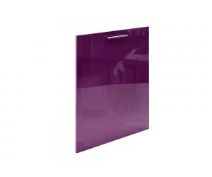Модул за кухни - врата за вграден ел. уред МДФ Елит М52 Патладжан гланц 60 см.