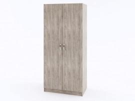Двукрилен гардероб ЕКО - Дъб суров - 80 см.
