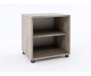 Нощно шкафче ЕКО - Дъб суров - 41 см.