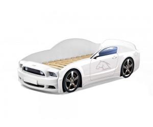 Легло - кола модел МУСТАНГ LIGHT PLUS в бяло