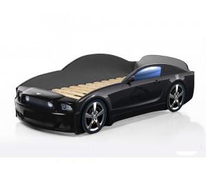 Легло - кола модел МУСТАНГ LIGHT PLUS в черно