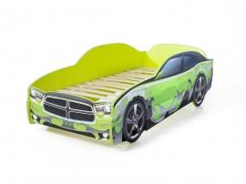 Легло - кола модел LIGHT Додж в зелено