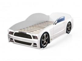Легло - кола модел LIGHT МУСТАНГ в бяло