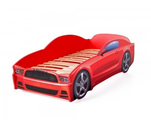 Легло - кола модел LIGHT МУСТАНГ в червено
