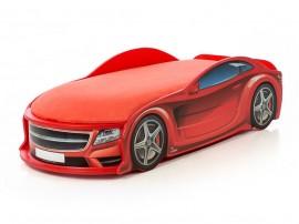Легло - кола модел UNO МЕРЦЕДЕС - червена - с матрак Стандарт
