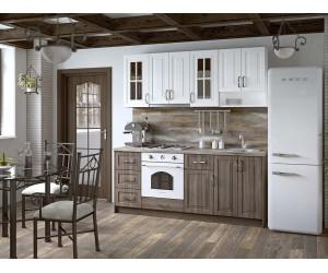 Модулна кухня MDF Винтидж 202 с включен термоплот