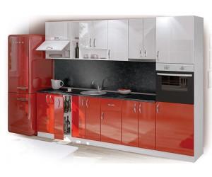 Модулна кухня Луксор 300 с включен термоплот и термогръб